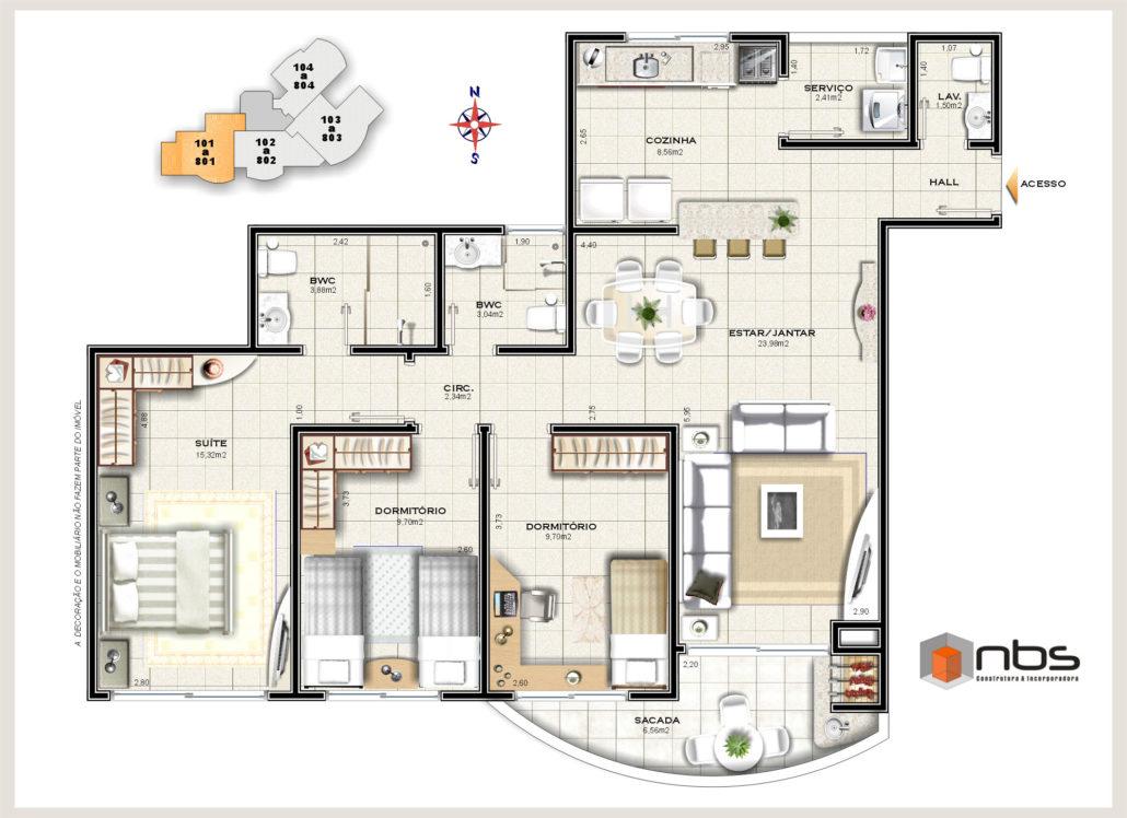tres quartos 1